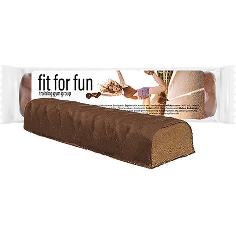 Protein-Riegel Kakao, ca. 50g, Express Flowpack mit Etikett