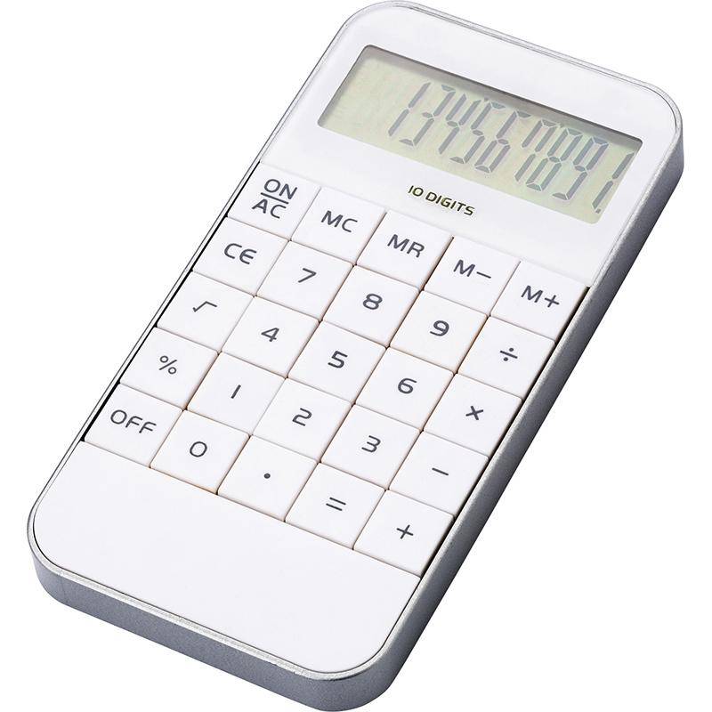 Taschenrechner 'Retro' aus ABS-Kunststoff