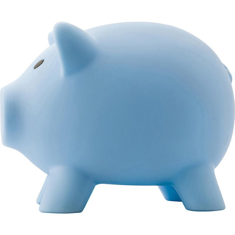 Sparschwein  'Porky' aus Kunststoff