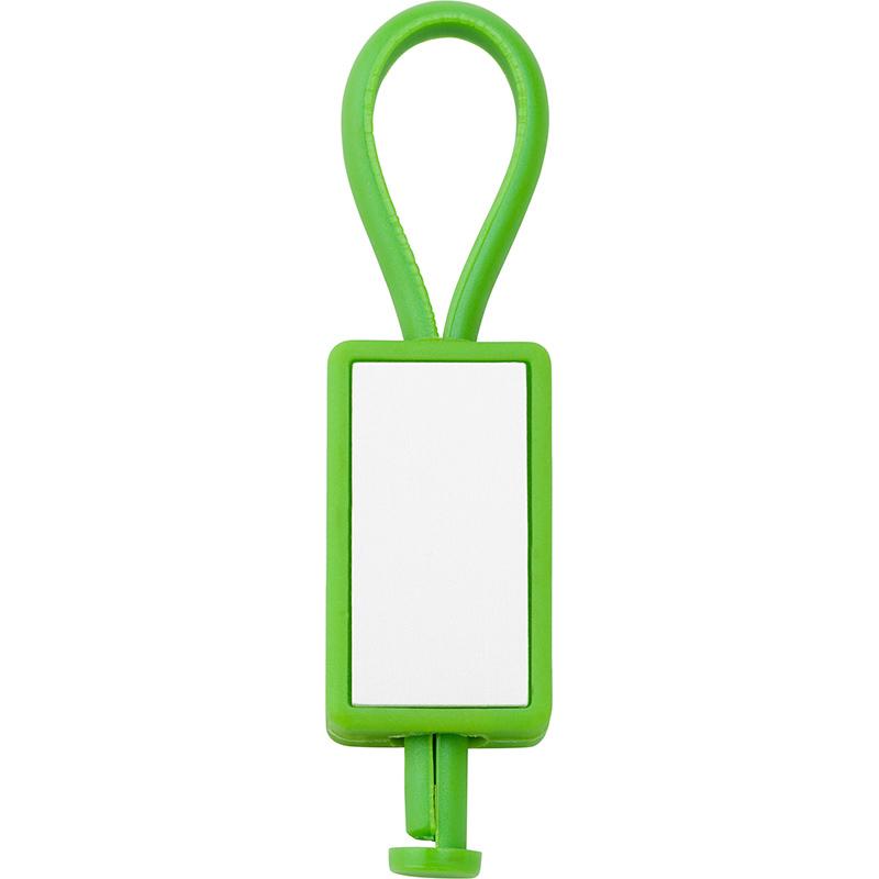 Schlüsselanhänger 'Color-Line' aus Kunststoff