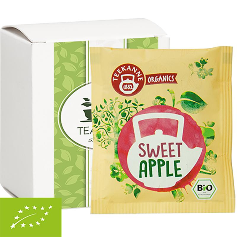 Bio Beuteltee Sweet Apple, 10 Stück, Faltschachtel