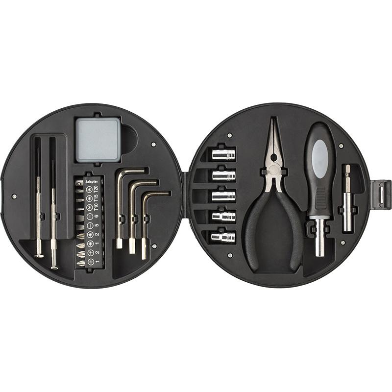 Werkzeug-Set 'Wheel' aus Kunststoff