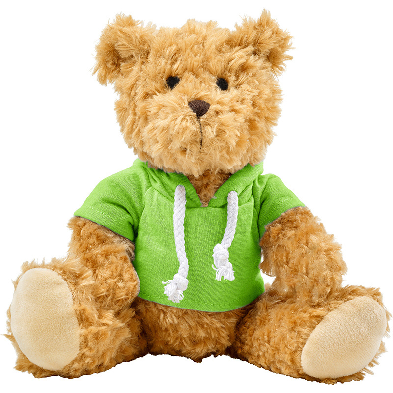 Plüsch-Teddybär 'Olaf' mit aufgestickten Augen