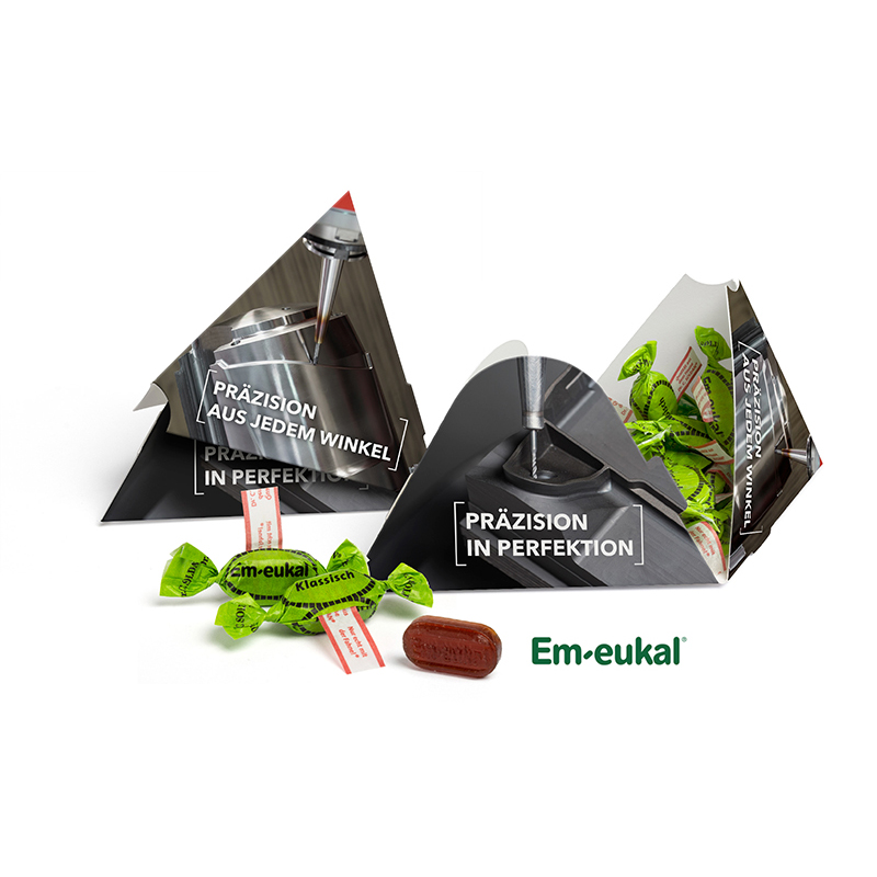 Pyramidenbox EM-Eukal Bonbons