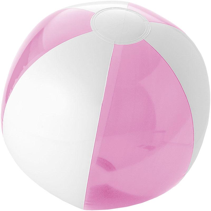 Bullet Bondi solider und transparenter Strandball