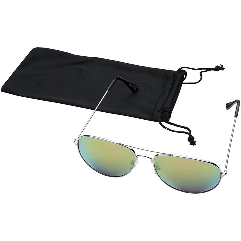 Bullet Aviator Sonnenbrille mit farbigen