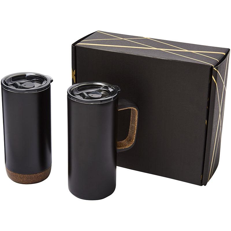Avenue Valhalla Geschenkset aus zwei Kupfer-Vakuum Isolierbechern