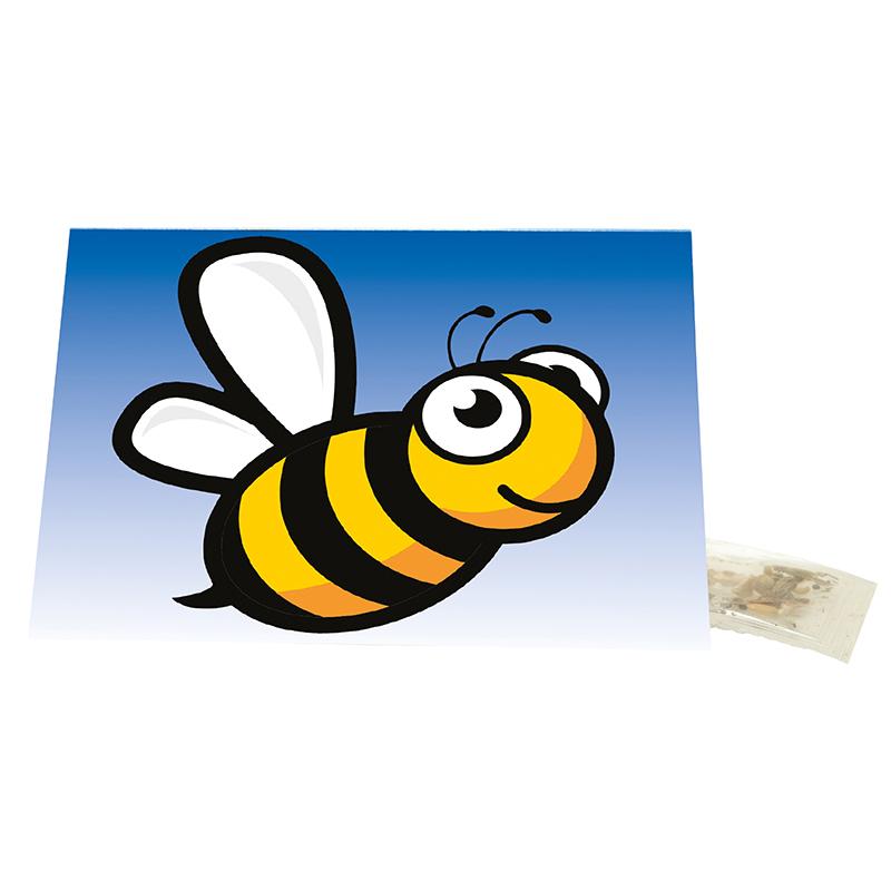 Klappkärtchen Biene