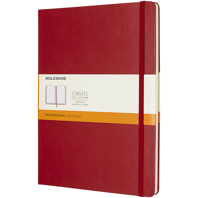 Moleskine Classic Hardcover Notizbuch XL – liniert