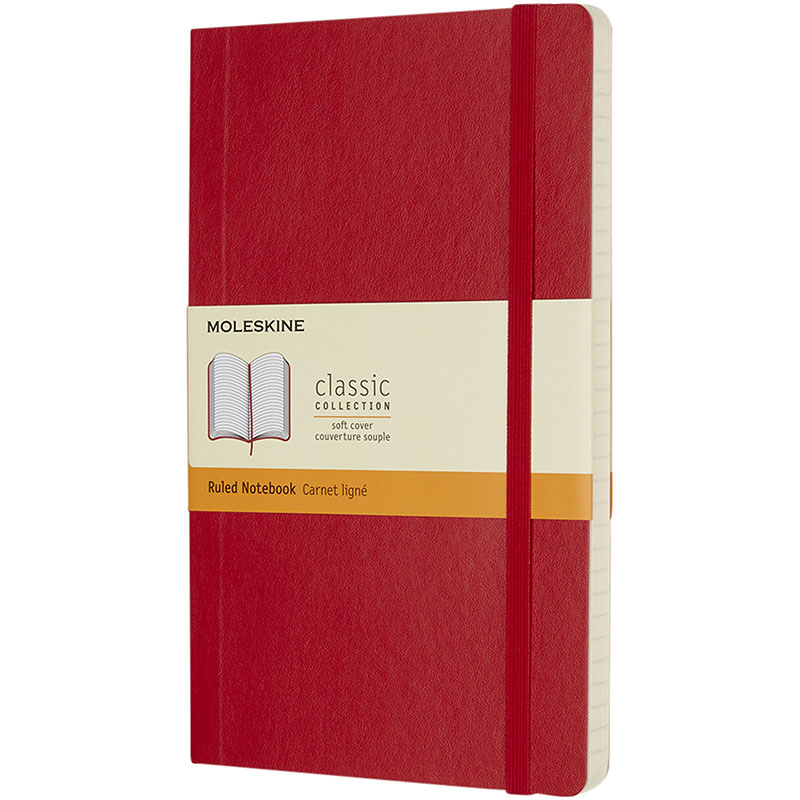 Moleskine Classic Softcover Notizbuch L – liniert