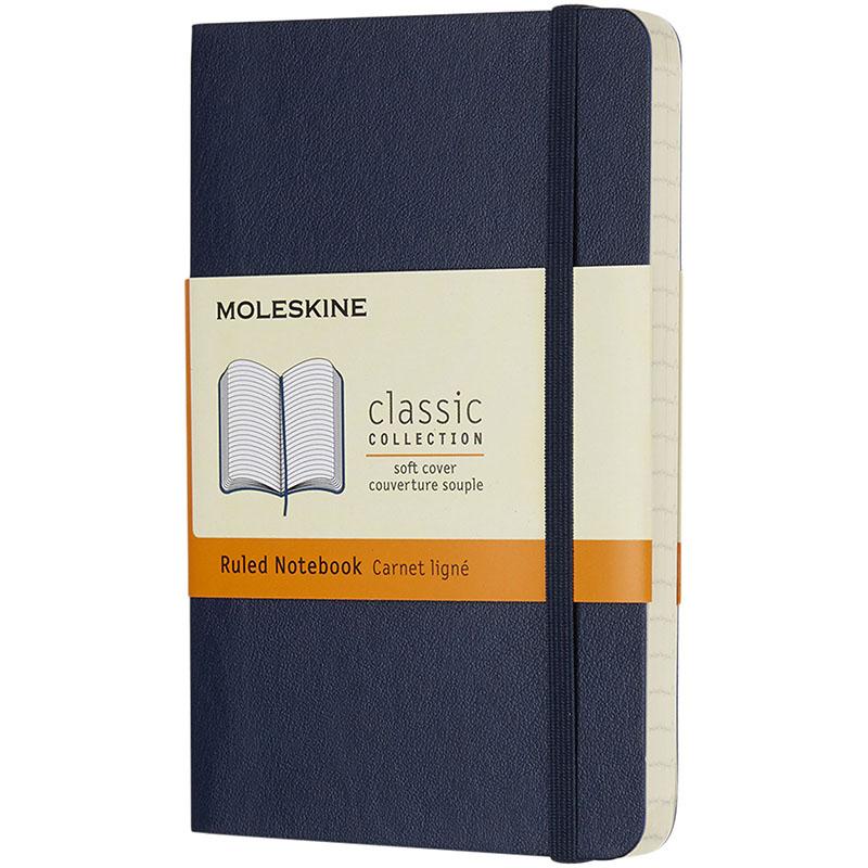 Moleskine Classic Softcover Notizbuch Taschenformat – liniert