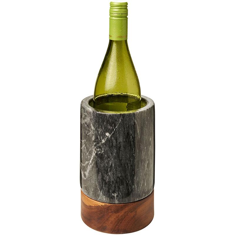 Avenue Harlow Weinkühler aus Marmor und Holz