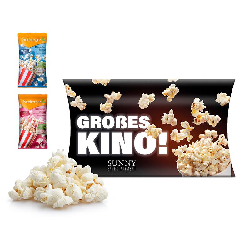 Mikrowellen-Popcorn Werbekartonage