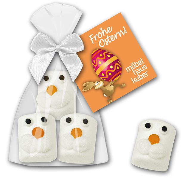 Marshmallow Hasenkoepfe