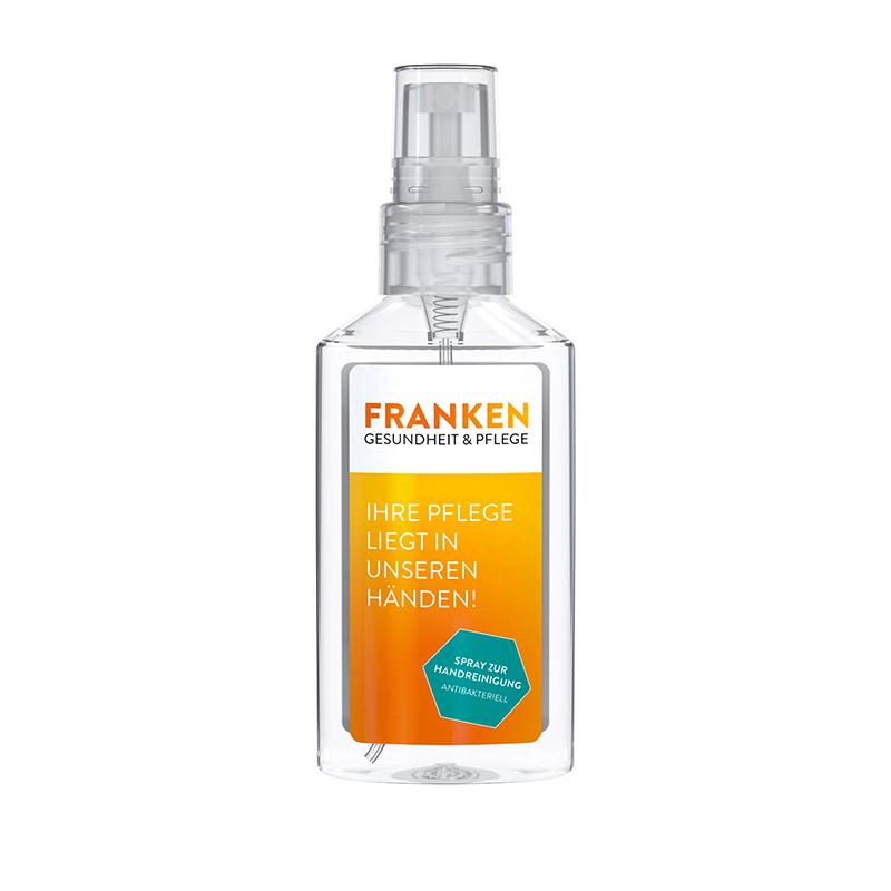 50 ml Spray (kristallklar) - Handreinigungsspray antibakteriell - Body Label