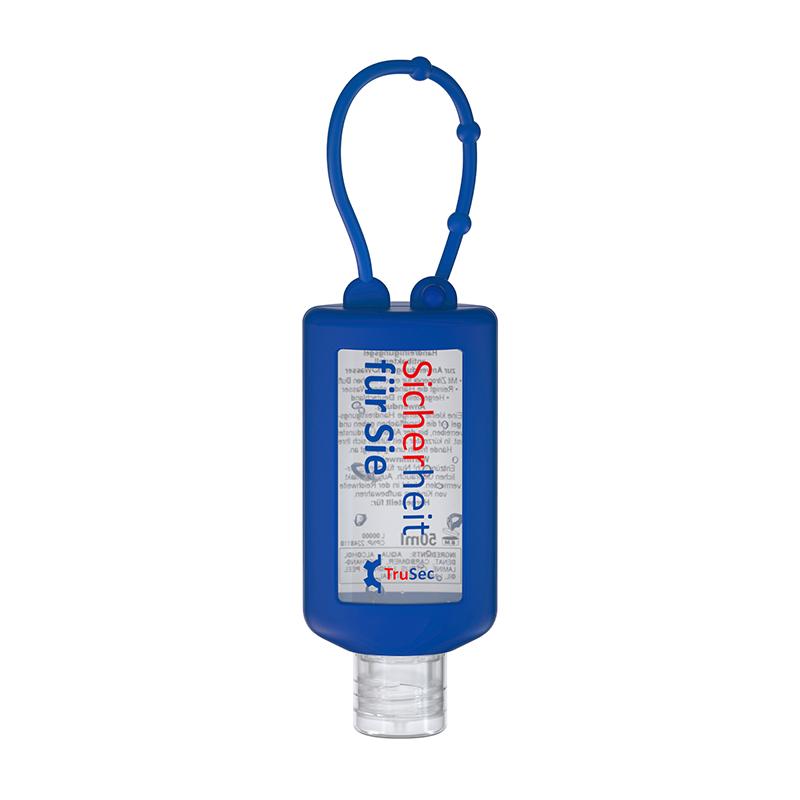 50 ml Bumper blau - Handreinigungsgel antibakteriell - No Label Look