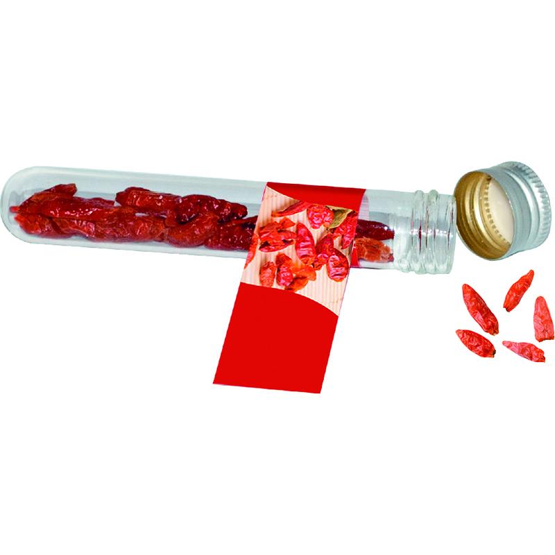 Reagenzglas Chili