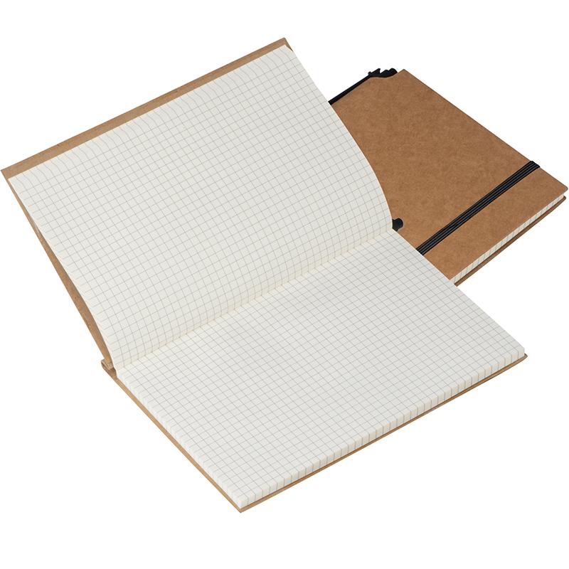 Notizbuch mit umweltfreundlichem Umschlag