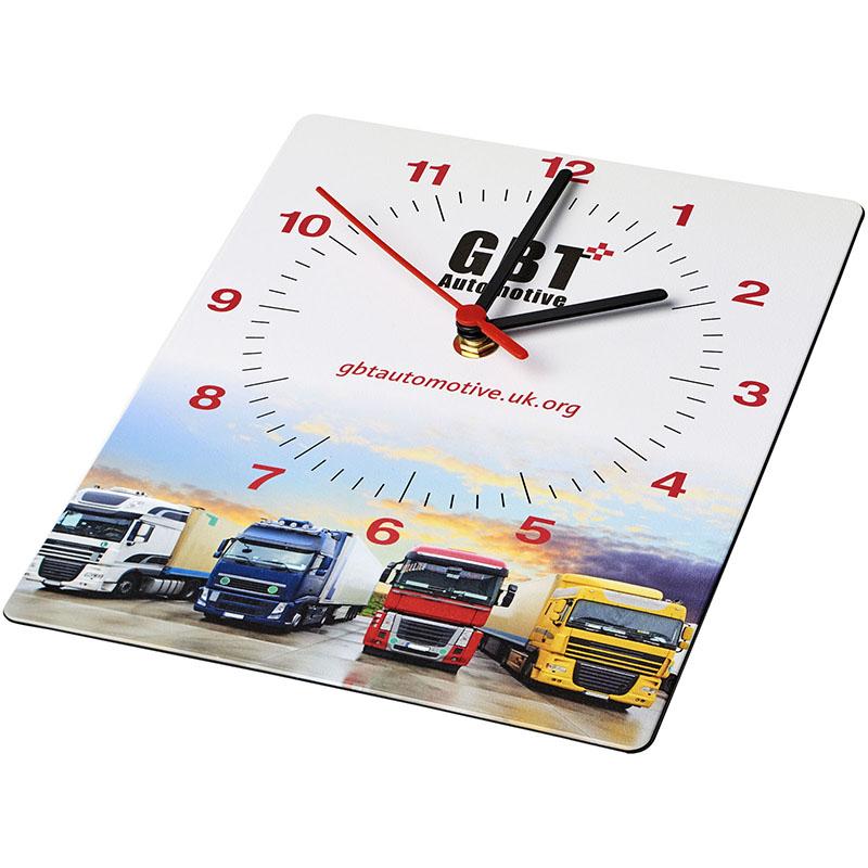 Brite-Clock® Brite-Clock® rechteckige Wanduhr