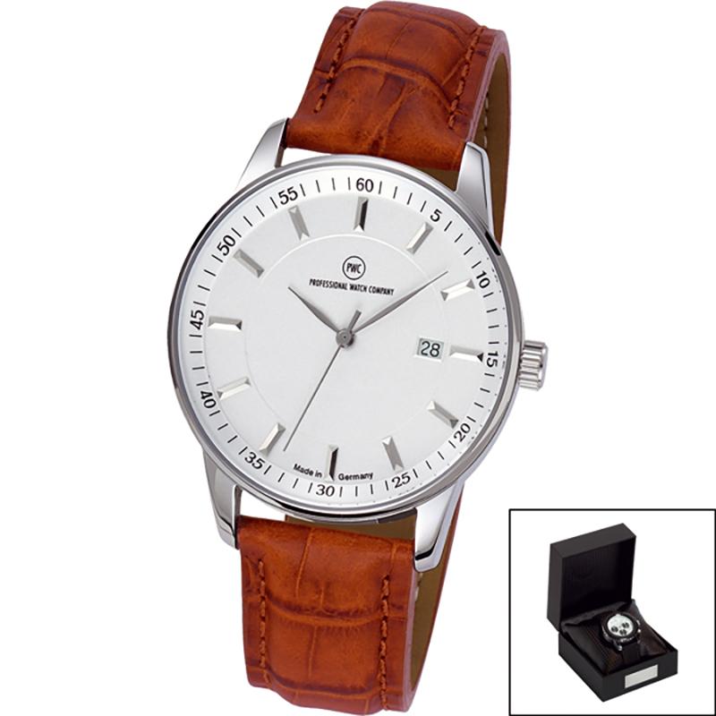 Edelstahl-Armbanduhr Made in Germany Luxora