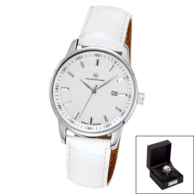 Edelstahl-Armbanduhr Made in Germany Luxora Damen
