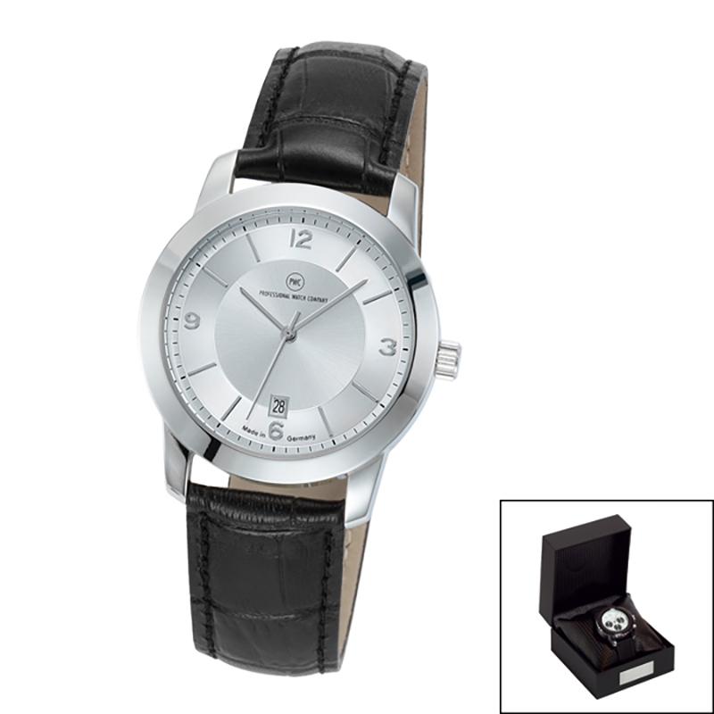 Edelstahl-Armbanduhr Made in Germany Capella