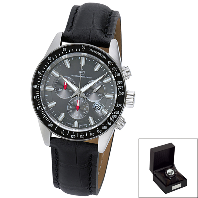 Edelstahl-Chronograph Made in Germany Native Chrono L