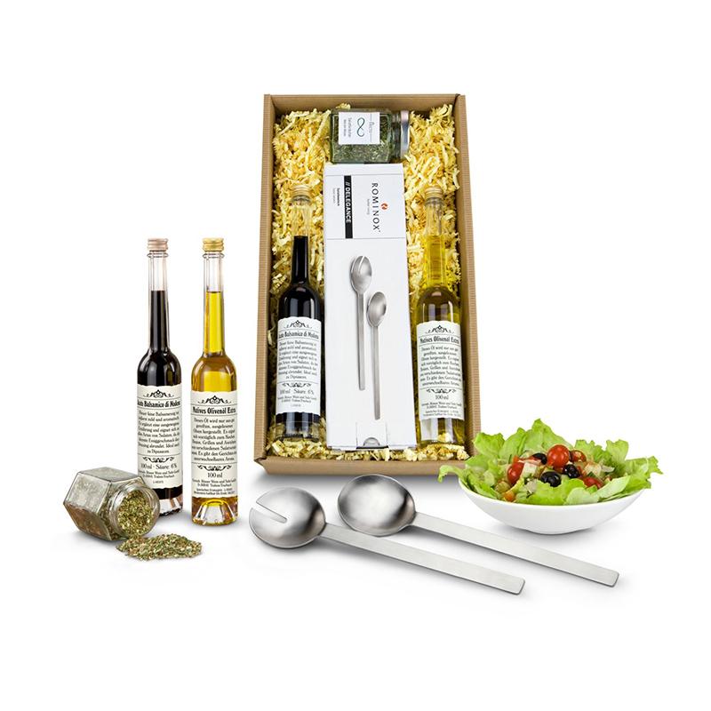 Geschenkset / Präsenteset: Salat-Duett