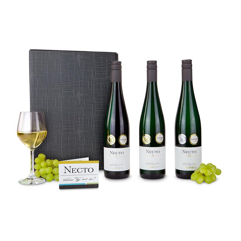 Geschenkset / Präsenteset: Premium Wein-Auswahl