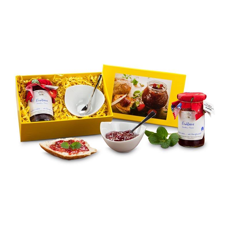 Geschenkset / Präsenteset: Frühstücks-Set