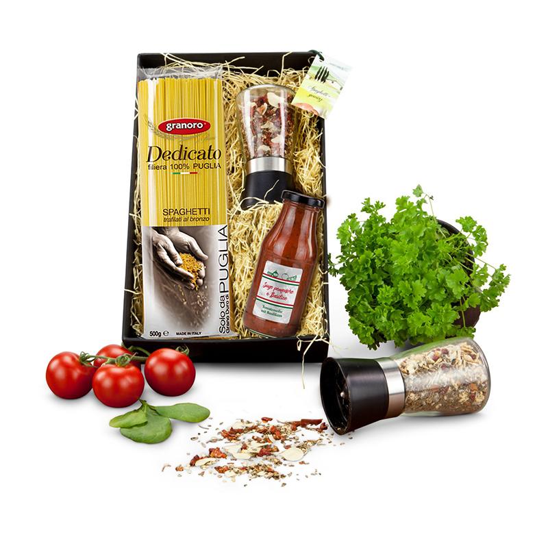 Geschenkset / Präsenteset: Spaghetti italiano