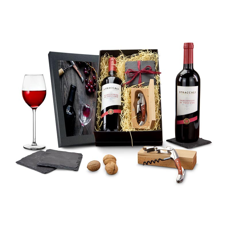 Geschenkset / Präsenteset: Wein-Freu(n)de