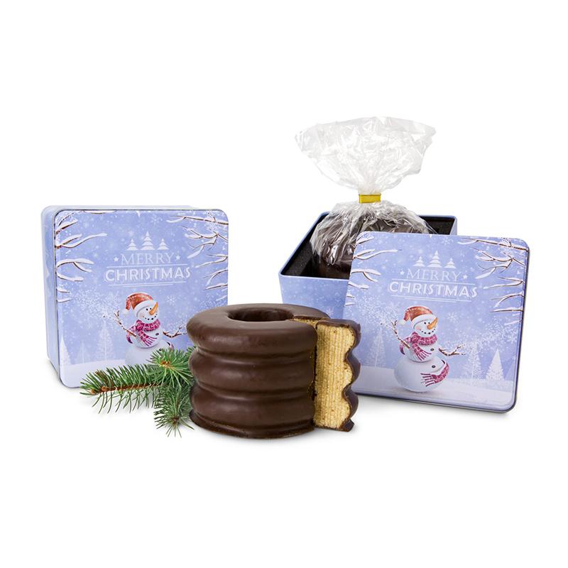 Geschenkset / Präsenteset: Baumkuchen in