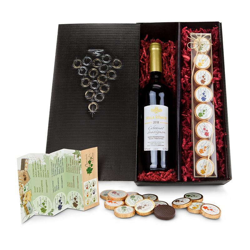 Geschenkset / Präsenteset: Chocolate for wine