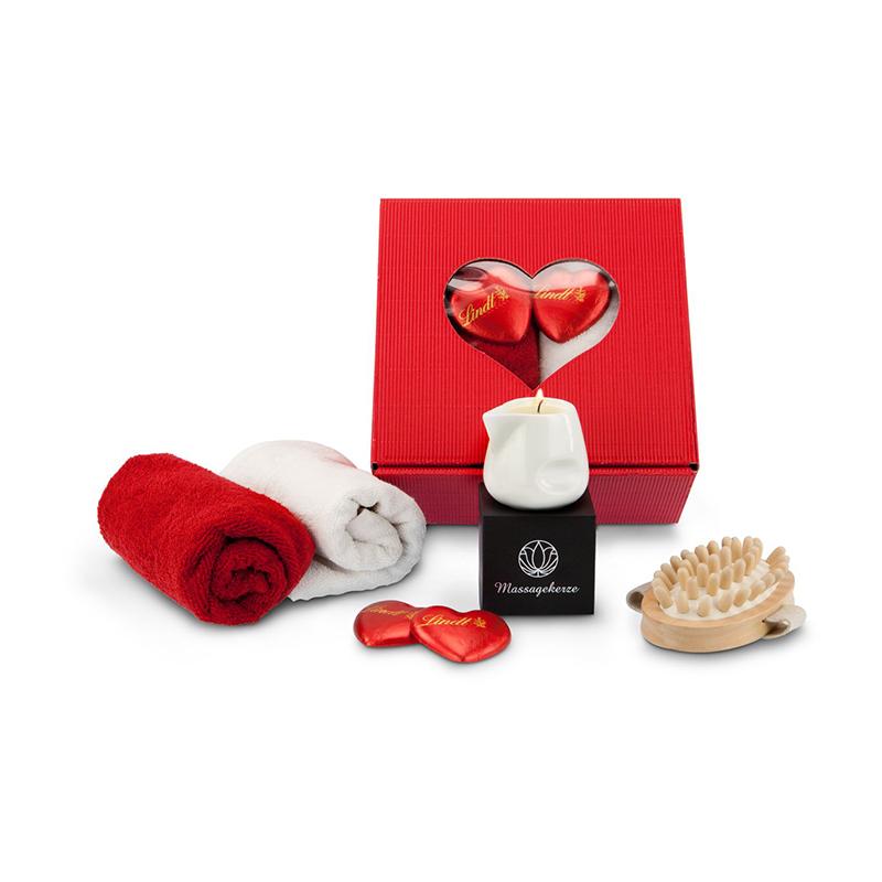 Geschenkset / Präsenteset: Wellness-Romantik