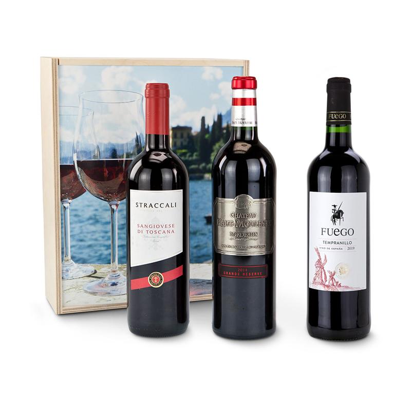 Geschenkset / Präsenteset: Mediterrane Weinreise