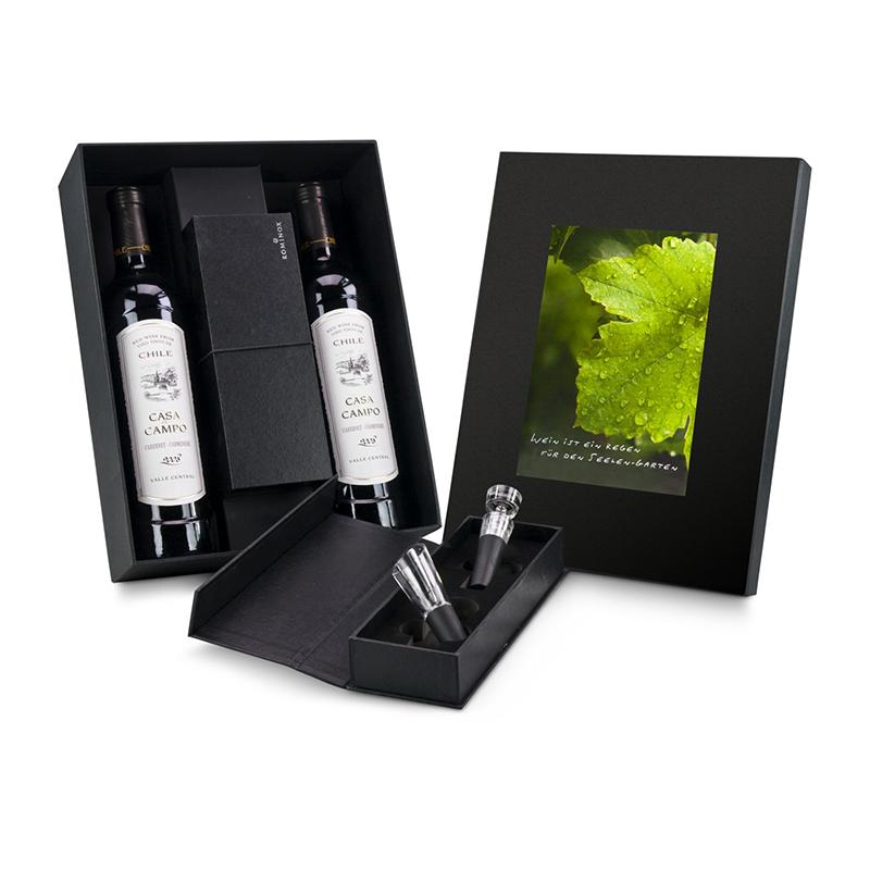 Geschenkset / Präsenteset: Wein-Accessoire-Set ROMINOX