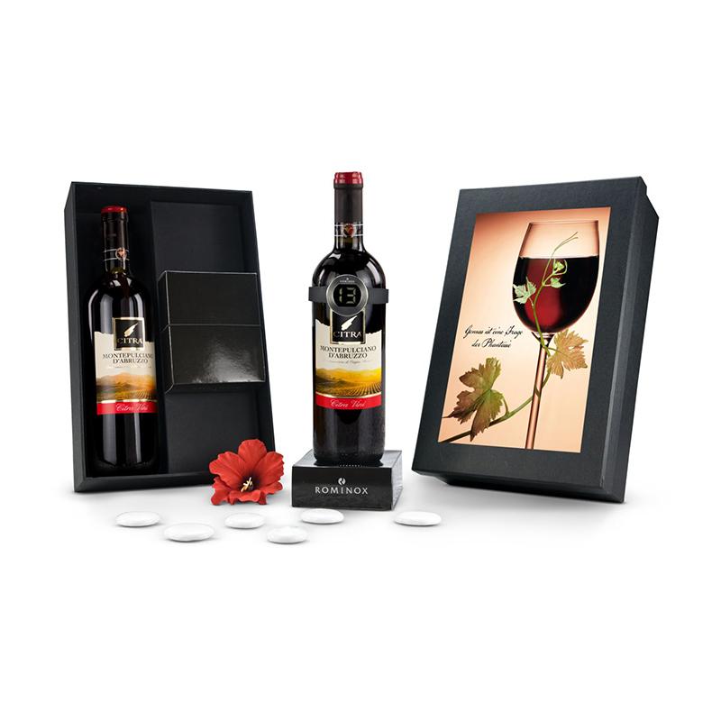 Geschenkset / Präsenteset: Modernes Weinthermometer
