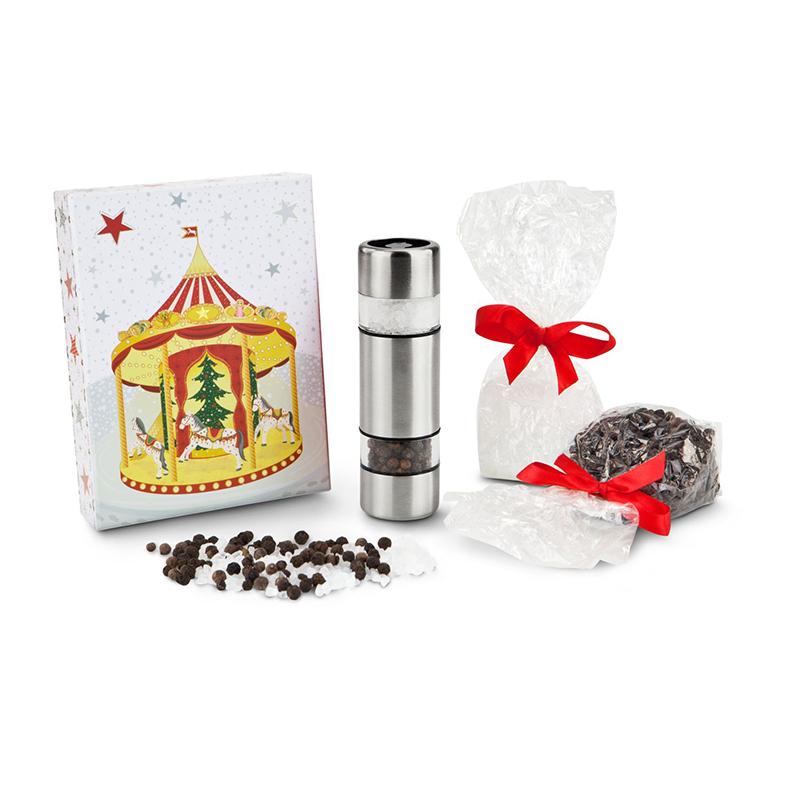 Geschenkset / Präsenteset: Weihnachtsduett Salz & Pfeffer