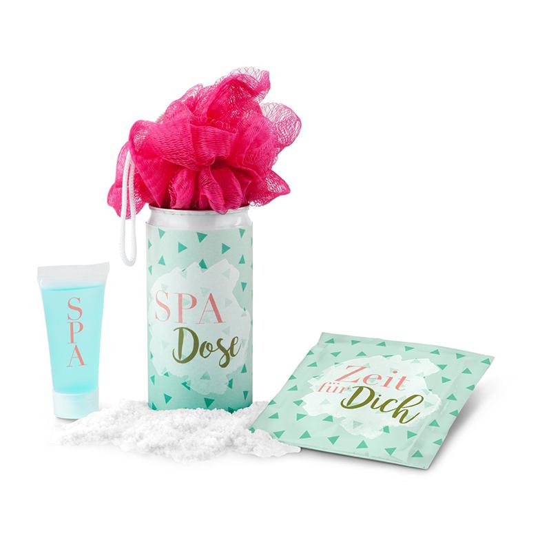 Geschenkset / Präsenteset: SPA Dose - Für Sie