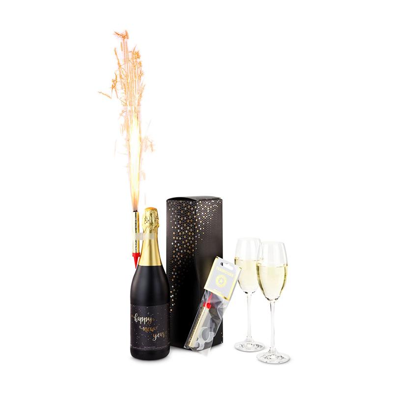Geschenkset / Präsenteset: Silvester-Feuerwerk