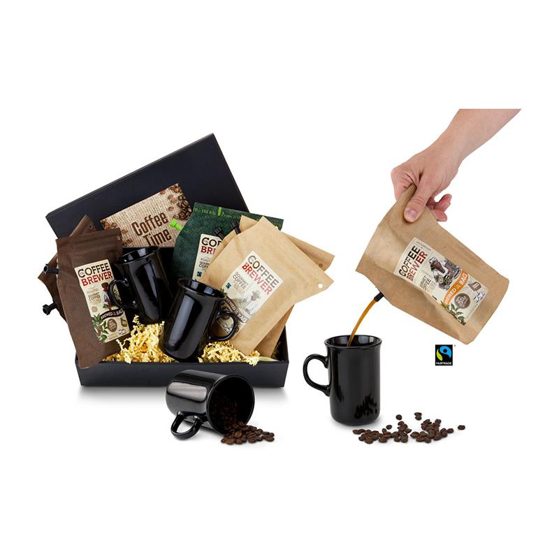 Geschenkset / Präsenteset: Kaffee-Reise für 2