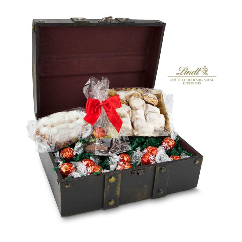 Geschenkset / Präsenteset: Adventstruhe