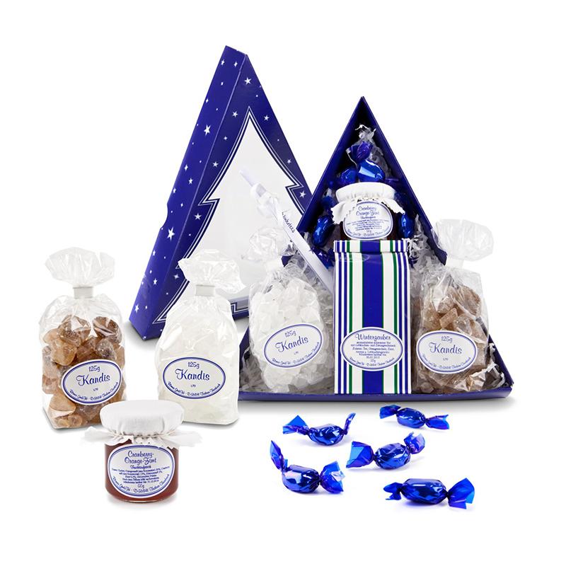 Geschenkset / Präsenteset: Tee-Tannenbaum