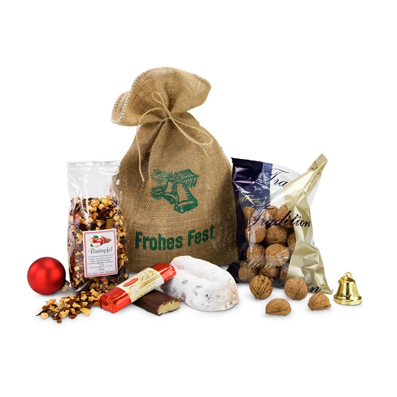 Geschenkset / Präsenteset: Gefüllter Weihnachtssack