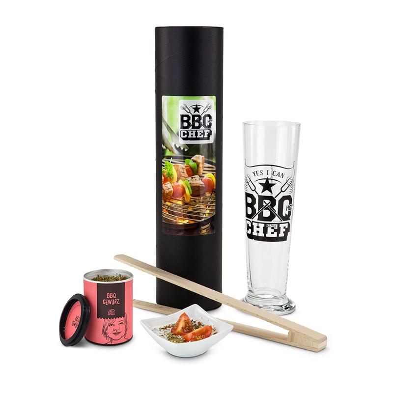 Geschenkset / Präsenteset: BBQ-Chef