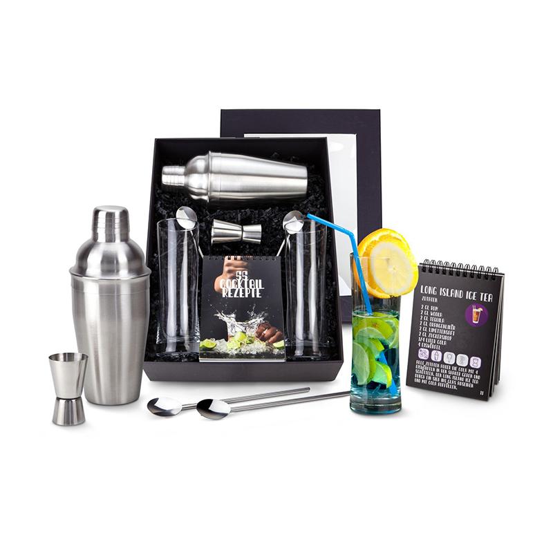 Geschenkset / Präsenteset: Exklusive Cocktail-Box