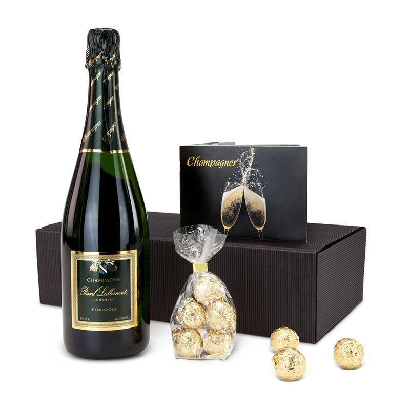 Geschenkset / Präsenteset: Champagner-Box