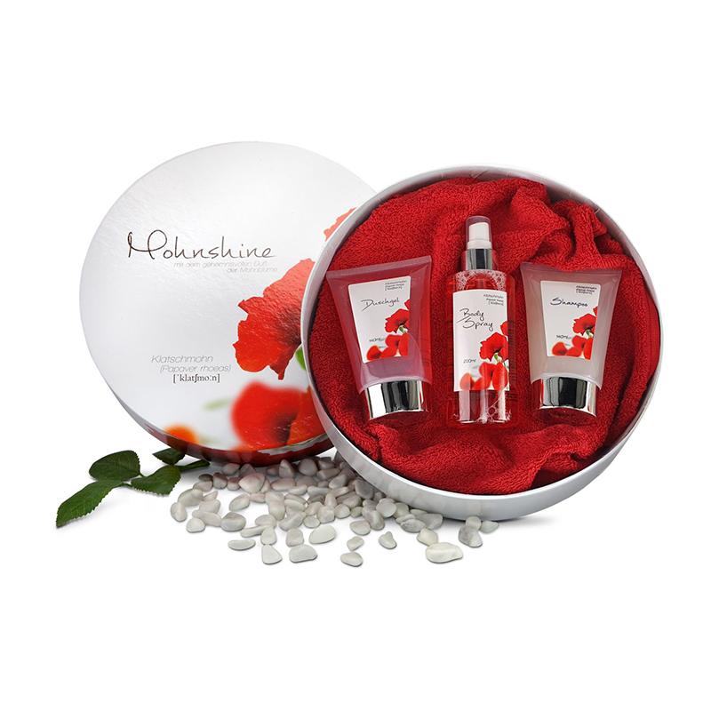 Geschenkset / Präsenteset: Mohnshine Premium