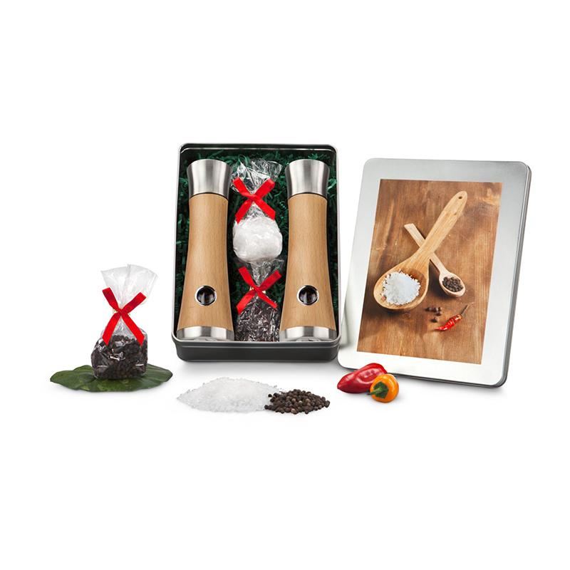 Geschenkset / Präsenteset: Salz- und Pfeffermühlen-Set